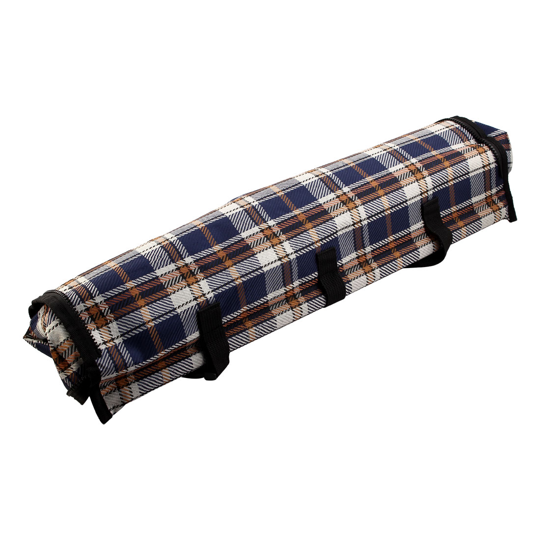 Outdoor Travel Plaid Print Non-Slip Pet Dog Car Protector Mat Cushion Seat Cover