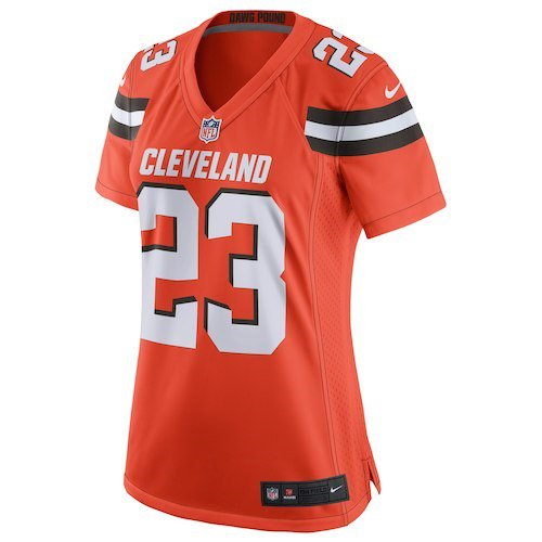 new product 82a4b 350f3 Joe Haden Cleveland Browns Nike Women's Game Jersey - Orange ...