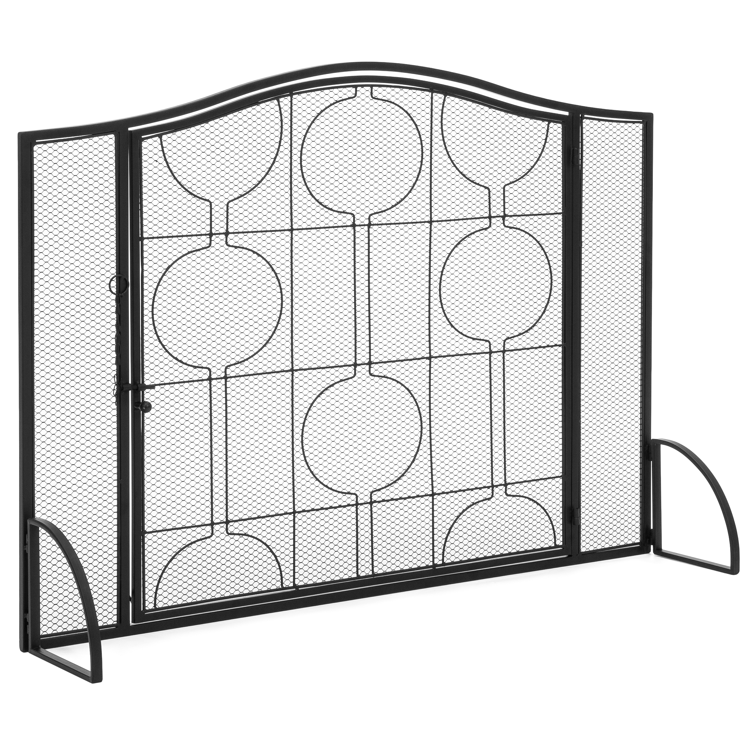 Best Choice Products Single Panel Living Room Heavy Duty Steel Mesh