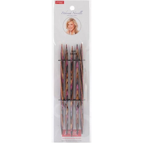 "Deborah Norville Double Pointed Needles 6""-Size 8/5mm"