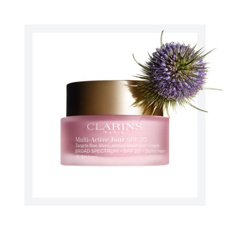 Clarins Multi-Active Day Day Cream with SPF 20 for All Skin Types - 1.7