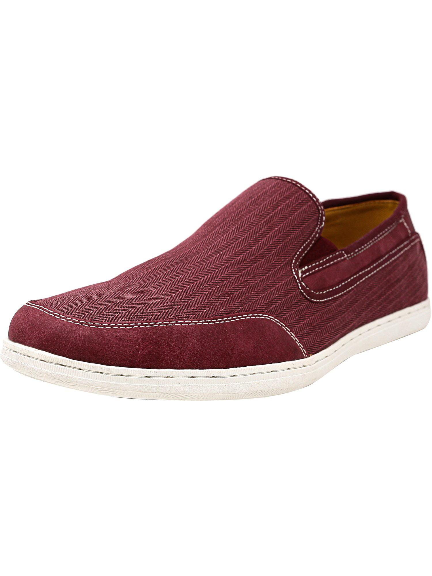 b9755ed1e47 Steve Madden Men s Luthur Fabric Red Ankle-High Flat Shoe - 13M
