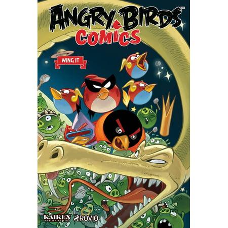 Angry Birds Comics Volume 6: Wing It - Angry Birds Halloween Comic Book