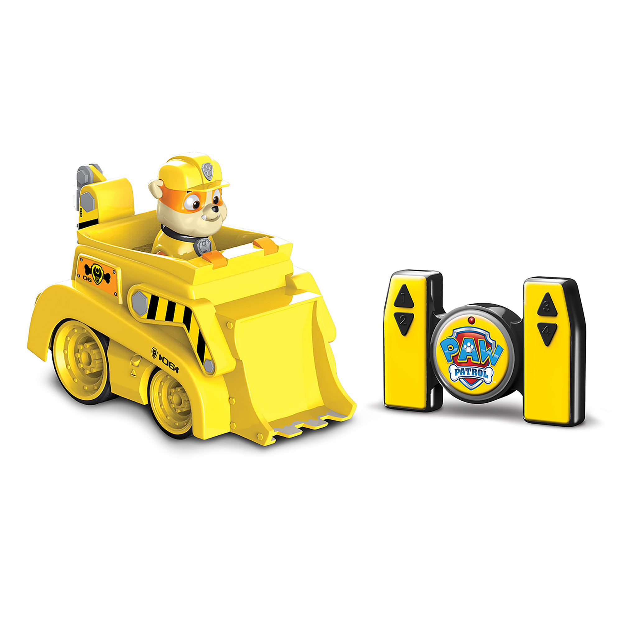 Jamn Products Paw Patrol My First Preschool Remote Control, Rubble by Jam'n Products