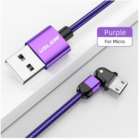 Clearance Newway USLION Micro USB Cable Fast Charging 3A Microusb Cord For Samsung S7 Xiaomi Redmi Note 5 Pro Android Phone cable usb charger