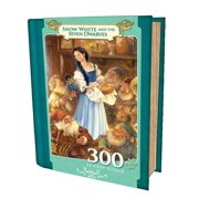 Snow White and the Seven Dwarves 300 Piece Book Puzzle