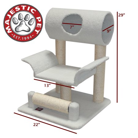 29-inch Cat Activity Center Scratcher By Majestic Pet Products