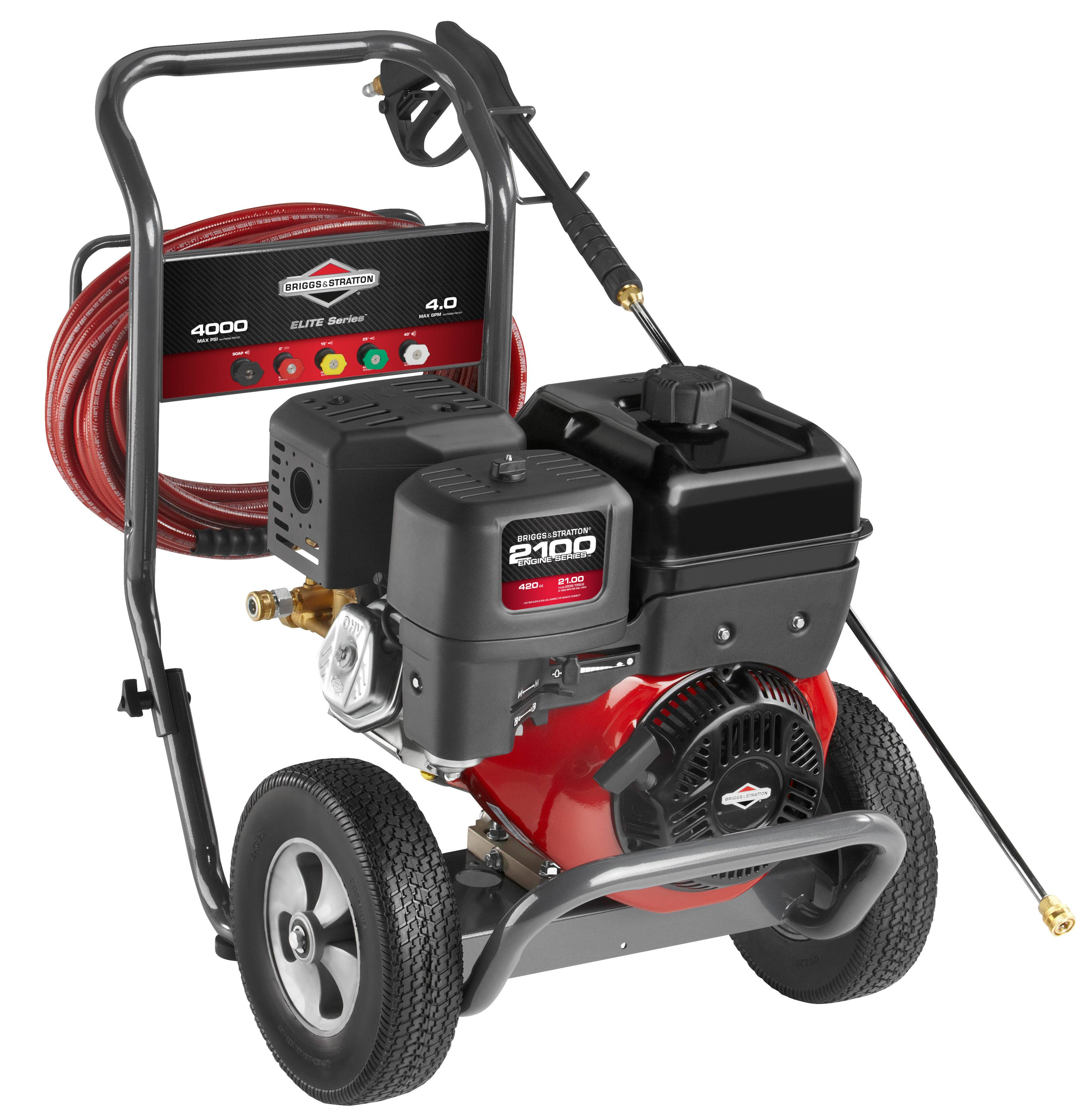 Briggs & Stratton 4000 PSI 4.0 GPM Elite Series Gas Press...