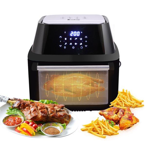 16L Air Fryer Oven, URHOMEPRO Smart Deep Air Fryer Toaster ...