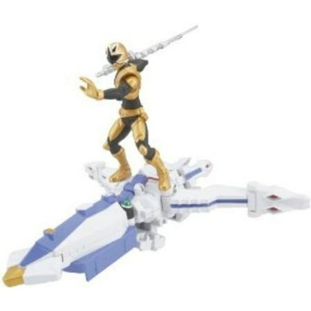 Power Ranger Zord Vehicle w/Figure, OctoZord with Gold Ranger