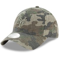 New York Mets New Era Women's Tonal Core Classic 9TWENTY Adjustable Hat - Camo - OSFA
