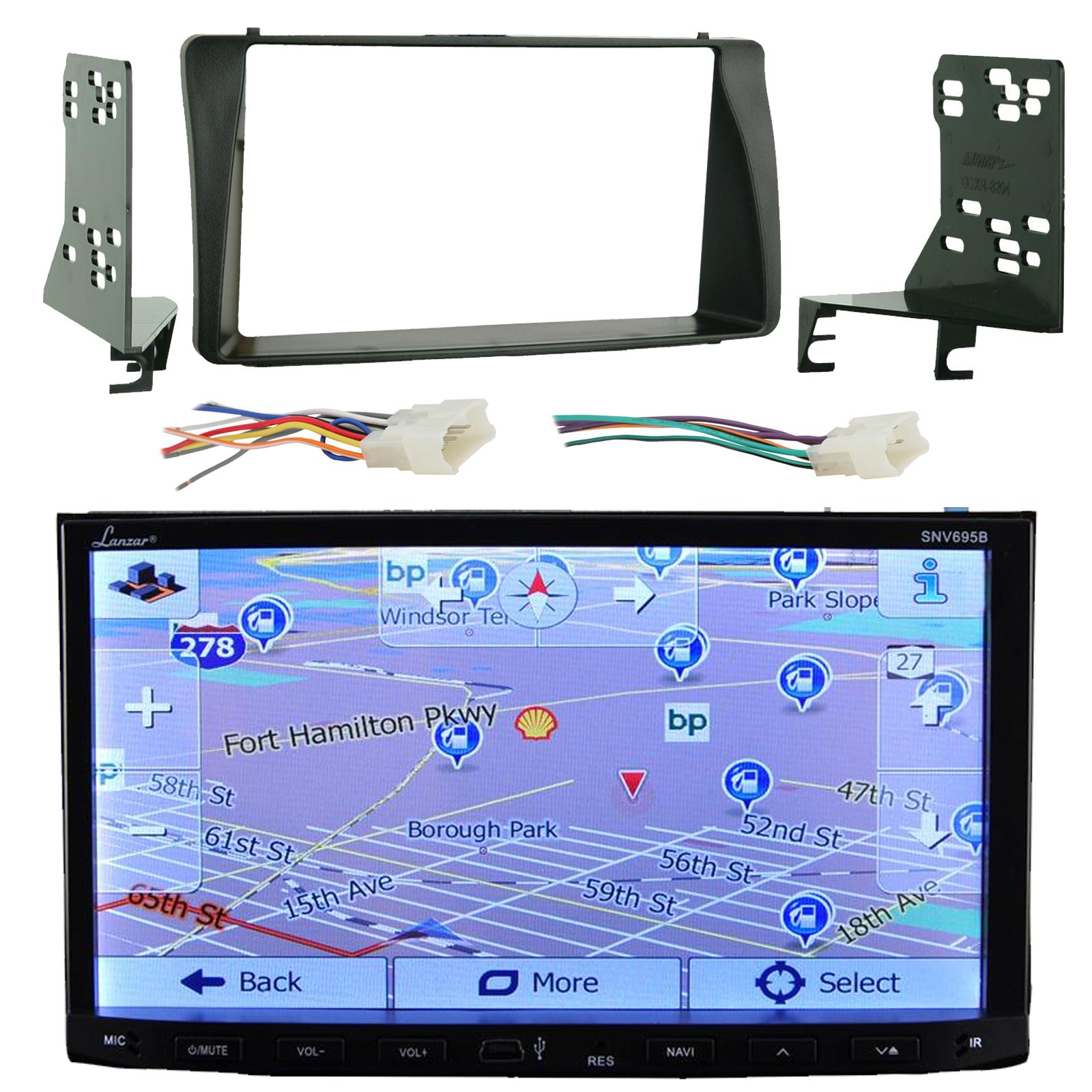 Lanzar SNV695B 7'' Touch Screen Bluetooth CD/DVD Player G...