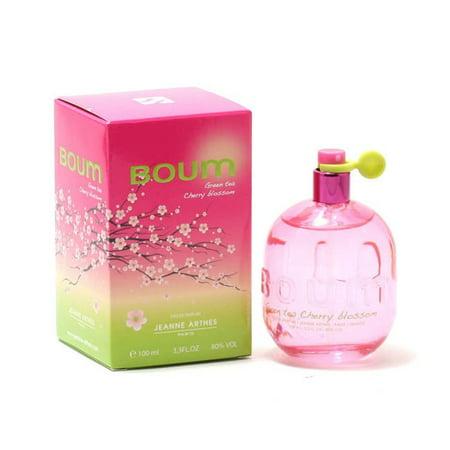Jeanne Arthes  Boum Green Tea Cherry Blossom Women's 3.4-ounce Eau de Parfum Spray (Tea Girl Blossom)