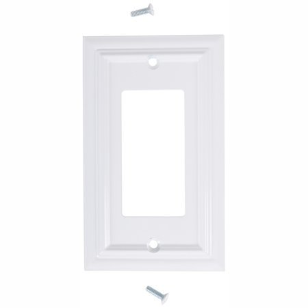 6 Pack Elumina Decor White Wallplate Decor Style Wall Plate
