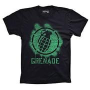 Grenade Men Stencil Bomb Tee Shirt M