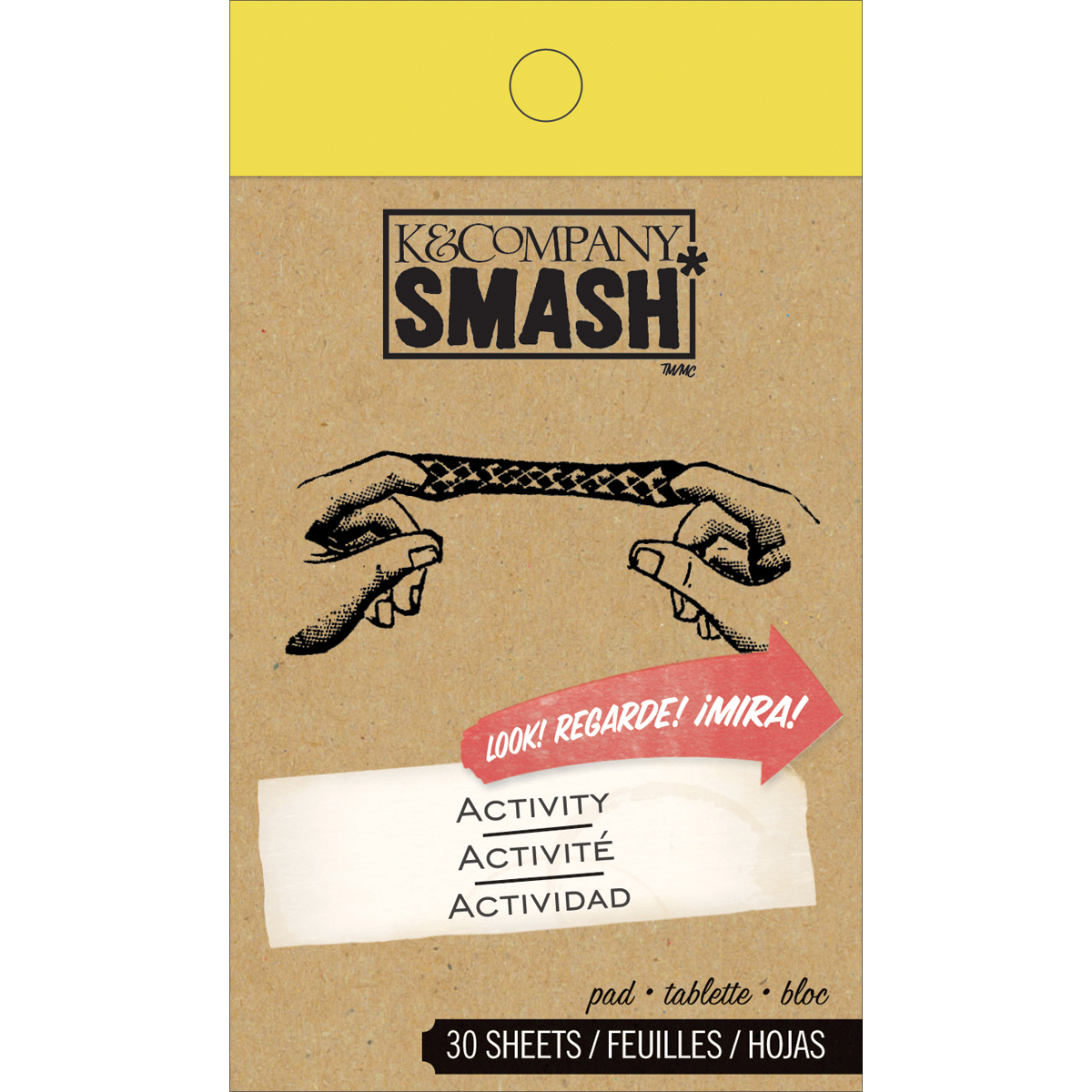 SMASH Activity Pad 30 Sheets