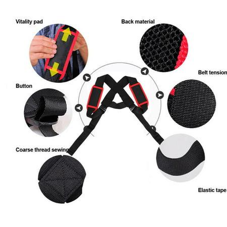 WALFRONT Élastique réglable posture support de correction du dos correction du support thoracique Bandoulière ceinture, correcteur de posture du dos, orthèse de maintien du dos - image 1 de 8