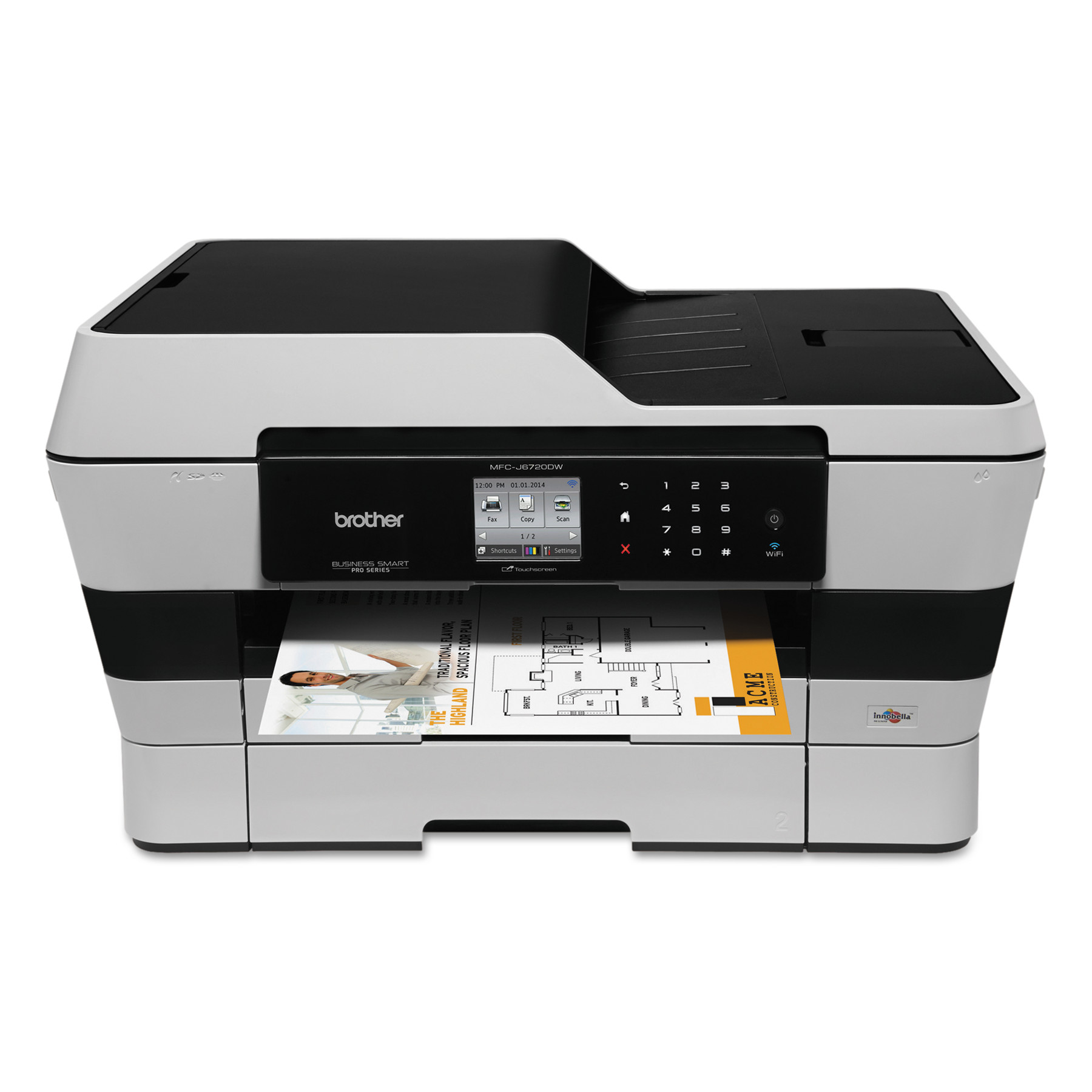Brother Business Smart Pro MFC-J6720DW Wireless All-in-One Inkjet, Copy Fax Print Scan by Brother