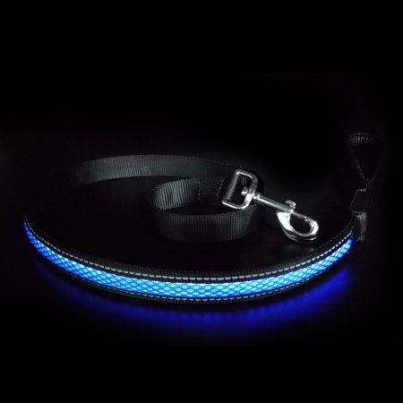 Led Dog Leash USB Rechargeable Dog Visibility & Safety Adjustable Flashing Leash Best Gift for