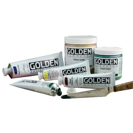 Golden Artist Colors 16 oz. Regular Gel Medium Semi-Gloss Primer Paint (Regular Gel Gloss)