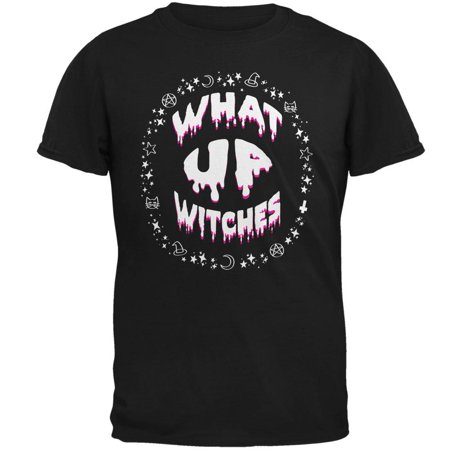Mens Halloween Ideas 2017 (Halloween What Up Witches Witchy Elements Mens T)