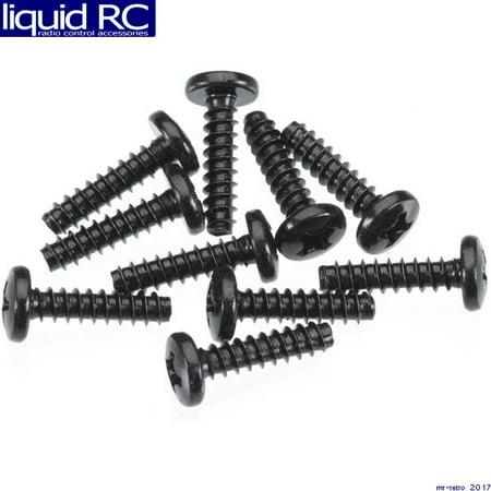 Axial Racing AXA866 M3x12mm Tapping Binder Head (Black) (10pcs)