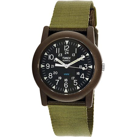 Timex Men's Camper T41711 Black Nylon Quartz Fashion Watch