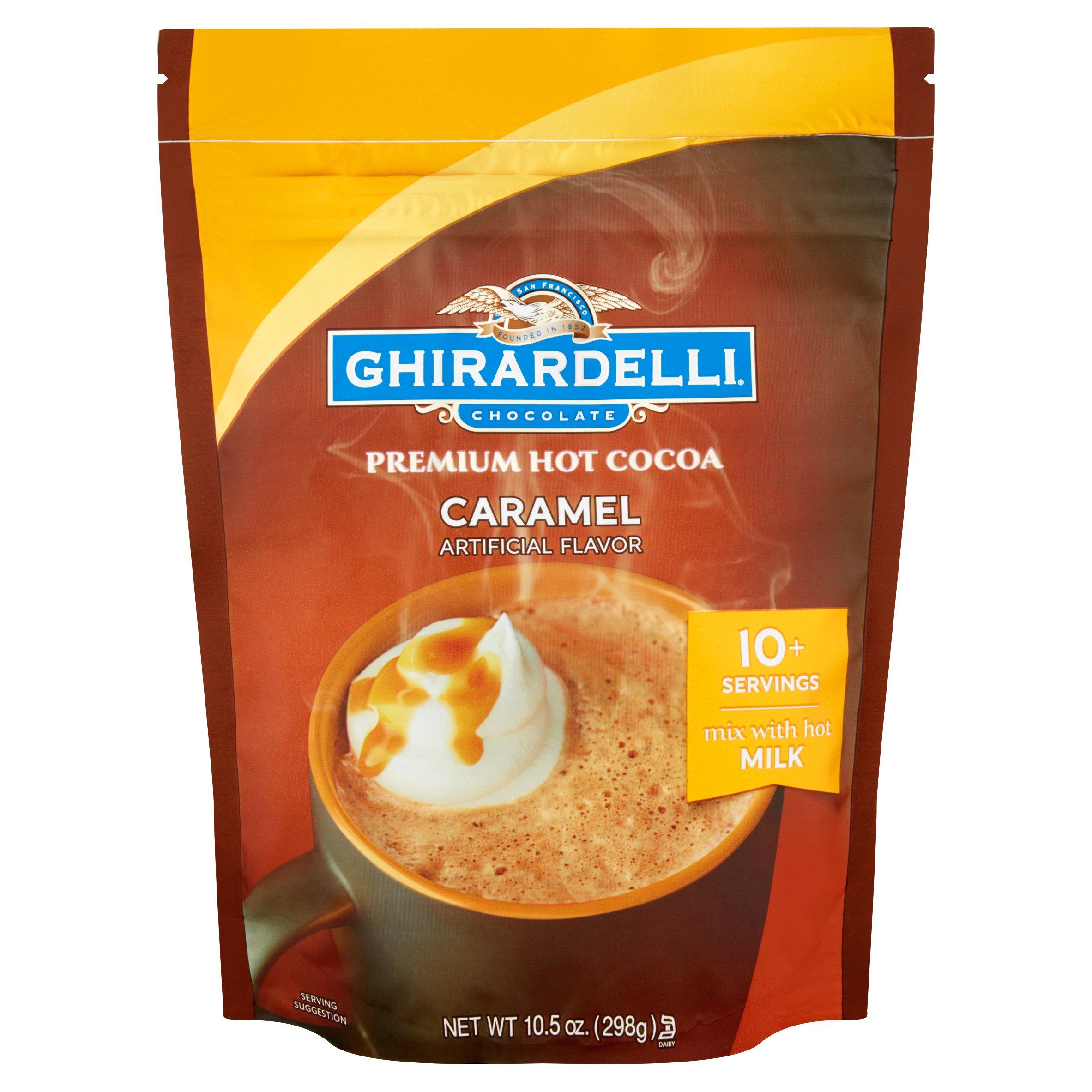 Ghirardelli Chocolate Premium Hot Cocoa Caramel, 10.5 OZ by Ghirardelli Chocolate Company