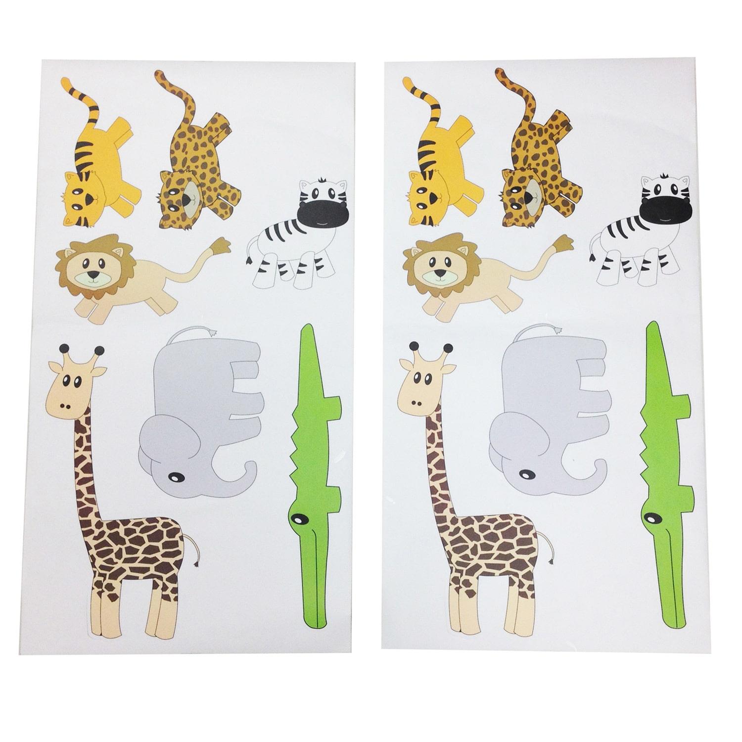 One Grace Place Jazzie Jungle Boy Wall Decals