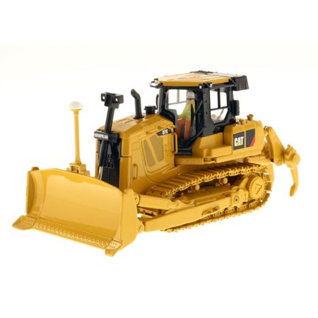 Cat Caterpillar D7e Track Type Tractor With Electric Drive With Operator 1 50 Diecast Model By Diecast Masters