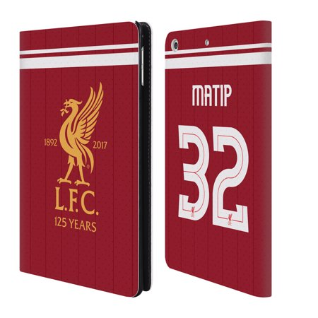 quality design c15bb 3113a OFFICIAL LIVERPOOL FOOTBALL CLUB HOME KIT 17/18 1 LEATHER BOOK WALLET CASE  COVER FOR APPLE IPAD