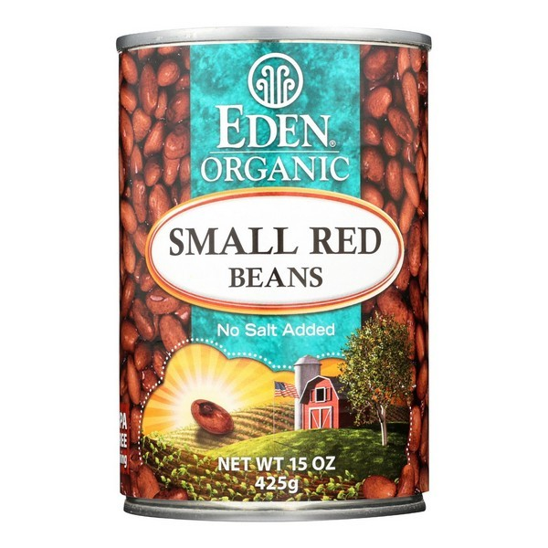 Eden Foods Small Red Beans Organic - Pack of 12 - 15 Oz.