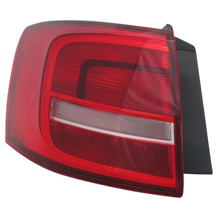 Replacement TYC 11-6784-00-1 Driver Side Tail Light For 2015 Volkswagen Jetta