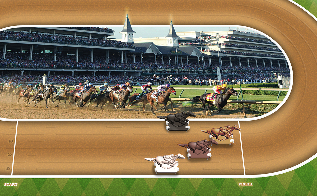 Kentucky Derby Kentucky Derby Horse Racing Game Walmart Com Walmart Com