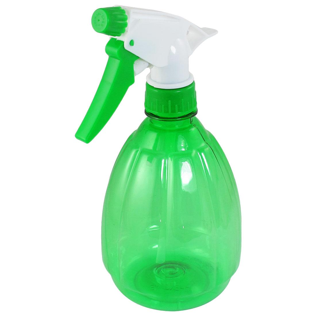 Unique Bargains Unique Bargains 530ml Clear Green Pumpkin Shaped Plastic Sprinkling Bottle Sprayer