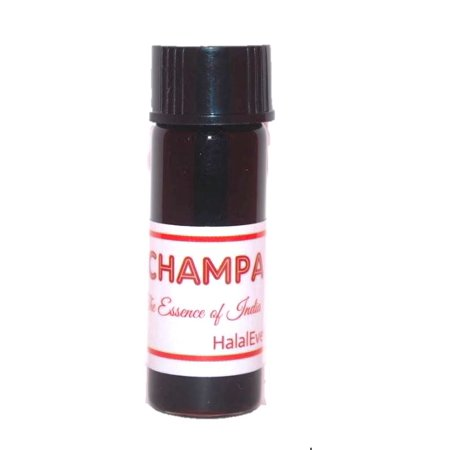 Nag Champa Perfume Oil - 1/8 oz. - by - Organic Perfume Champa Red Flower