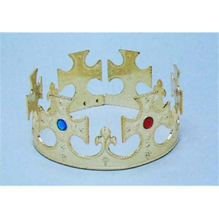 Kings Costume Gold Crown - Costume King Crowns