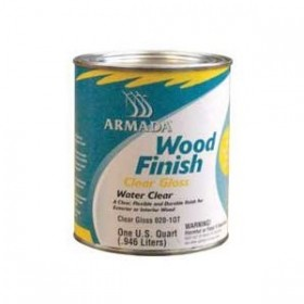 BLUW ARM WOOD FIN CLEARGLOSS GL