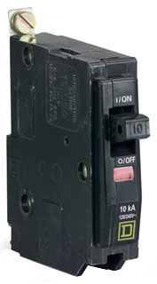 Schneider Electric   Square D QOB120VH Bolt-On Circuit Breaker 20 Amp, by Square D