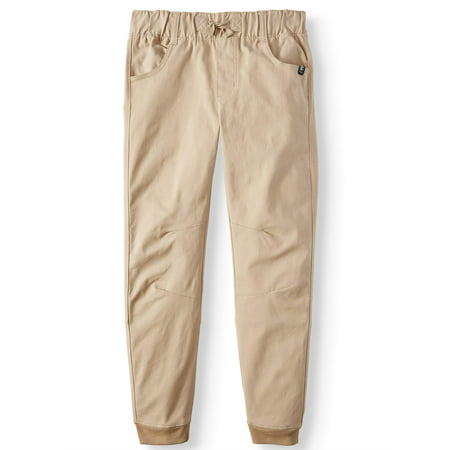 Beverly Hills Polo Club Pull On Stetch Twill Skinny Jogger Pants (Big (Boys Dress Twill Pant)