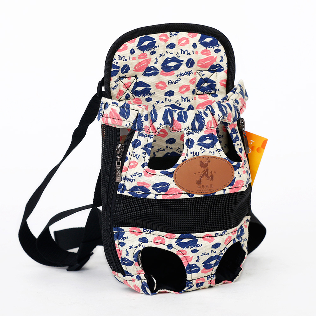 Pet Dog Carrier Bag Travel Backpack Breathable Bag Shoulder Cap Puppy Carrier Pouch Holder With Legs Out