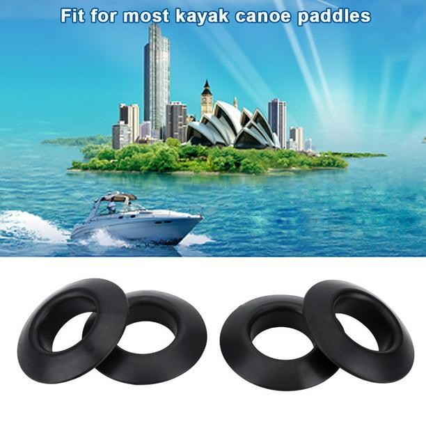 4Pcs Practical Rubber Drip Rings for Kayak Canoe Rafting Paddles Shaft