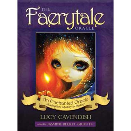 Party Games Accessories Halloween Séance Tarot Cards Faerytale Oracle deck by Lucy Cavendish