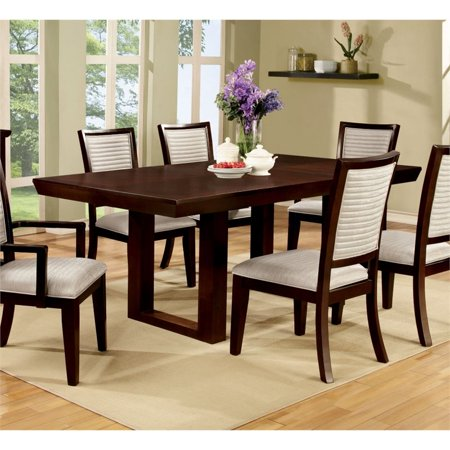 Bowery Hill Extendable Dining Table in Natural Wood ()