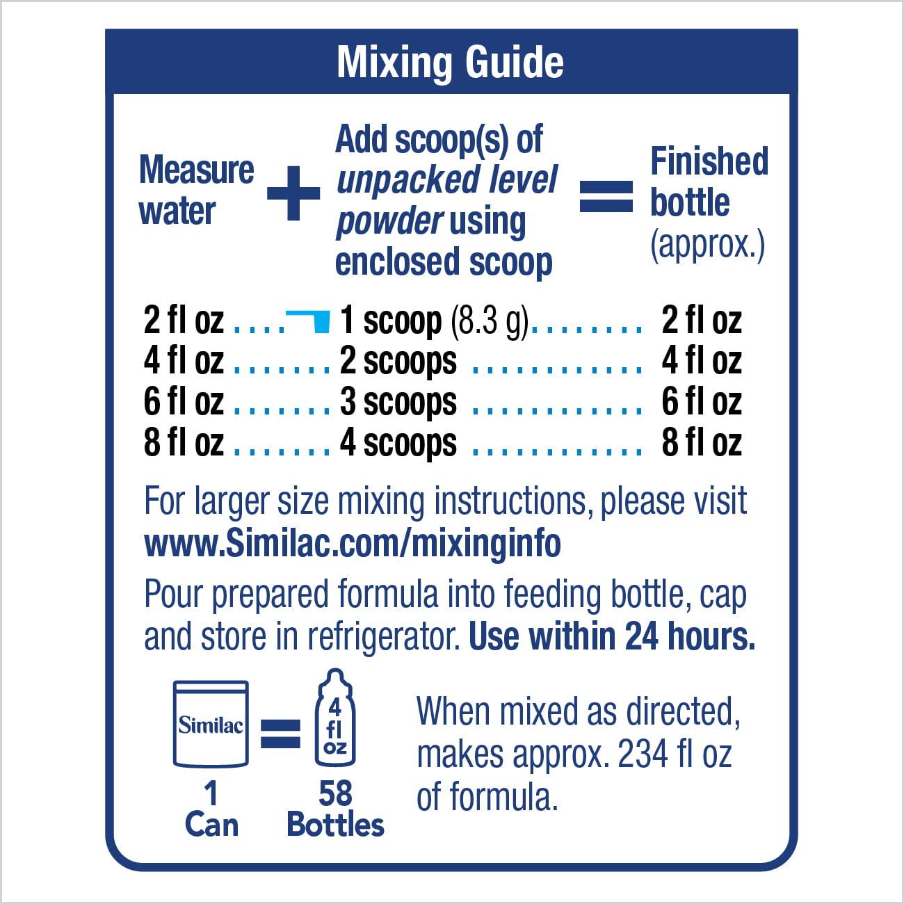 Similac Advance Infant Formula with Iron, Powder, 1.93 lb - Walmart.com
