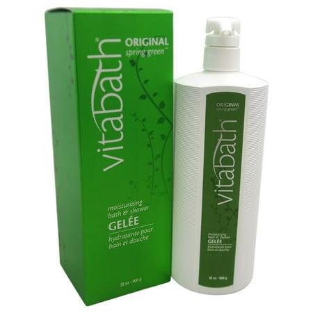 Original Spring Green Hydratante Bath -amp- Gelée de douche par  pour unisexe - 32 oz Gel Douche -amp- Bain