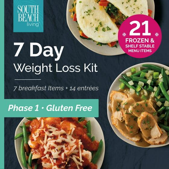 south beach diet gluten free phase 1 frozen ready to go 7 day