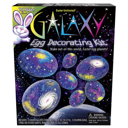 Galaxy Egg Dye Coloring Kit by Easter Unlimited - Walmart.com