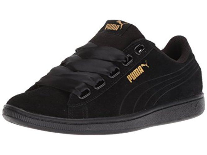 bf3b7a524a9 PUMA Women s Vikky Ribbon S Sneaker