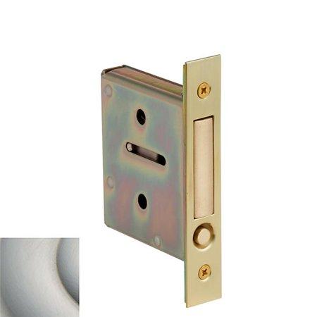 Baldwin 8601150 Pocket Door Pull for Passage and Dummy Satin Nickel Finish